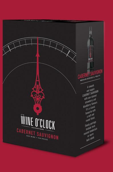 Wine O'Clock Cabernet Sauvignon 3L