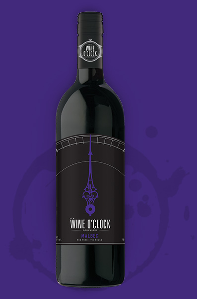 Wine O'Clock malbec Bottle