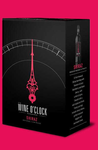 Wine O'Clock Shiraz 3L